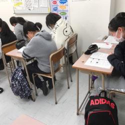 大垣本部校の中3は、三連休も3日連続!(真方)