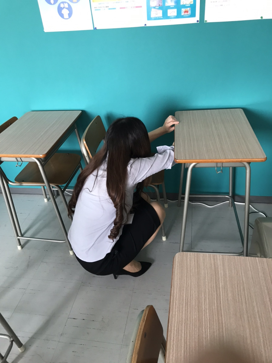 大垣市の外渕校です!通塾に向けて、準備中です!(中村祐介)