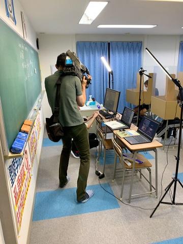 6月18日の木曜日に岐阜放送で聖陵学院の新型コロナ対策がニュース番組として取り上げられました。