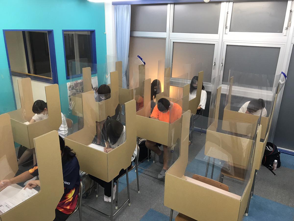 中学3年生実力テスト対策授業~聖陵学院海津校~