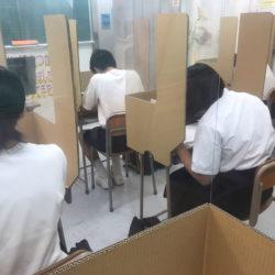 大垣本部校、今日は北中早朝勉強会です。