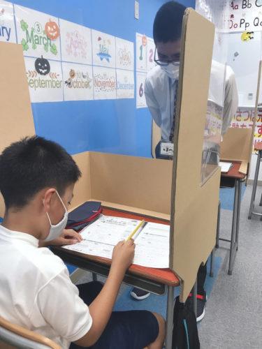 養老町の東部校、全学年テスト対策頑張っています!
