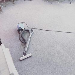 大垣市 外渕校 今日もしっかり掃除をしています!