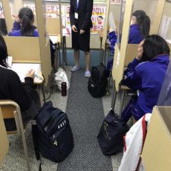 高田校です。テスト前の土日です。どの学年も補習と授業でがんばります!