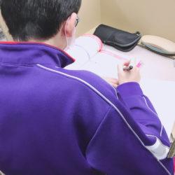 養老町の高田校です。定期テストまで残り1週間!