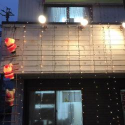 養老町の高田校です。クリスマス会を開きました。