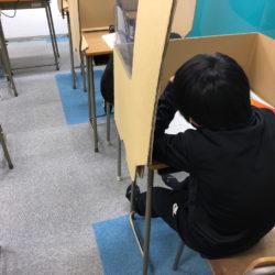 海津市 海津校 小学生もテスト対策頑張っています!