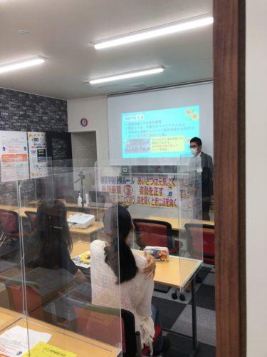 大野町 大野校 校舎説明会最終日でした!!(中村祐介)