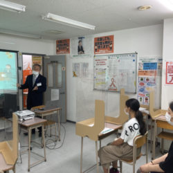 大垣本部校、第2回夏期説明会です。
