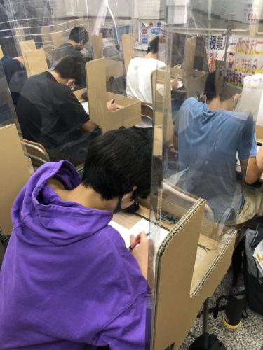 養老町の高田校です。夏期講習の後半が始まっています!