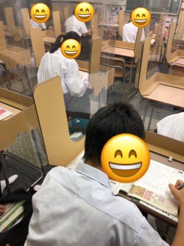 養老町の高田校です。早朝勉強会を行いました。