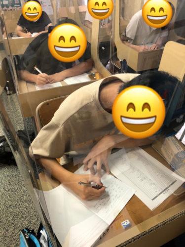 養老町の高田校です。中3土曜特訓頑張っています!