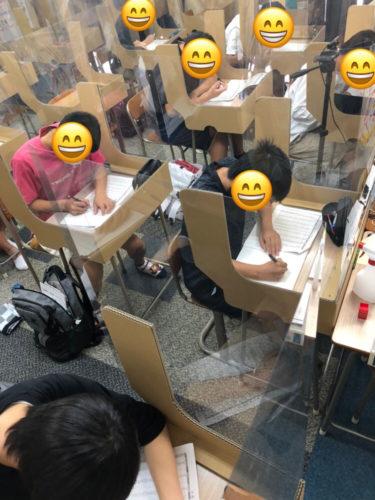 養老町の高田校です。中3が土曜特訓頑張っています!